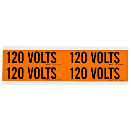 Voltage Marker, Vinyl, 120V