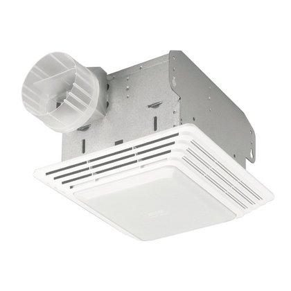 Ceiling Fan/Light, 50 CFM