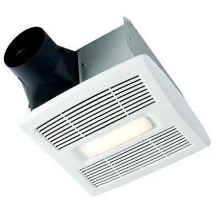 80 CFM Ceiling Fan w/ LED Light, Single-Speed