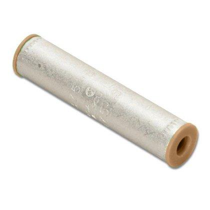 Compression Buttsplice, Aluminum, 2 AWG, CU/AL Rated