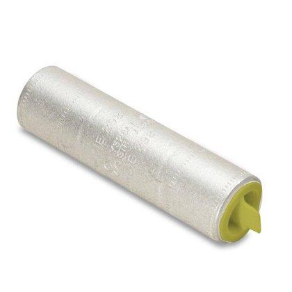 Compression Buttsplice, Aluminum, 750 MCM, CU/AL Rated