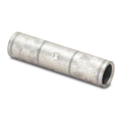 Compression Buttsplice, Copper, 4 AWG, Long Barrel