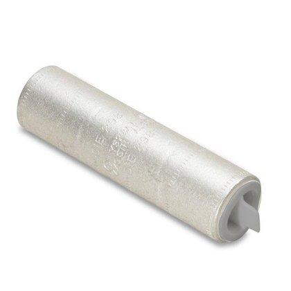 Compression Buttsplice, Aluminum, 6 AWG, CU/AL Rated