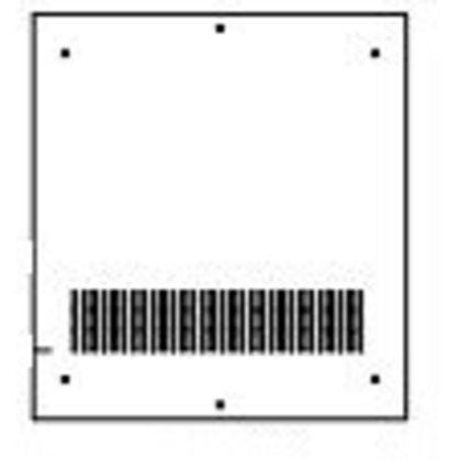 Base Plate, Fits 600x600mm *** Discontinued ***