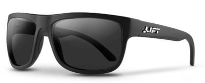 BANSHEE-áSAFETY GLASSES (MATTE BLACK/POLARIZED)