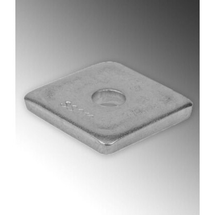 """Square Washer, 3/8"""", Stainless Steel"""