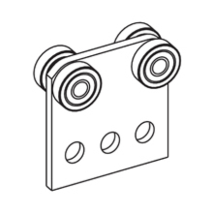 FOUR BEARING TROLLEY ASSEMBLY