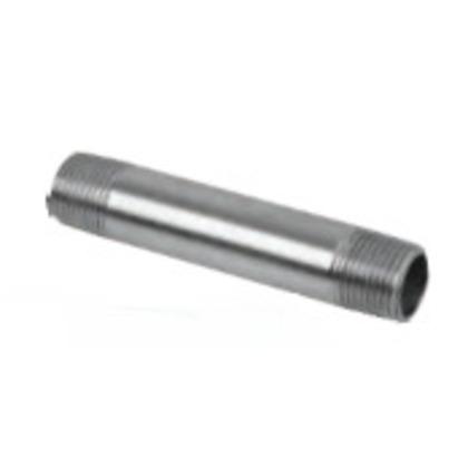"Stainless Steel Rigid Nipple, Size: 1/2 x 3-1/2"""