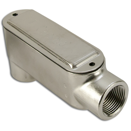 """2"""" Type LB Stainless Steel Conduit Body"""