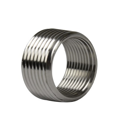 """Reducing Bushing, Threaded, 1""""x 3/4"""", Stainless Steel"""