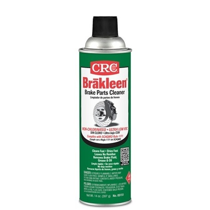 The Brake Cleaner to use where compliance calls for a chlorine-free product. Formulated to quickly remove brake fluid, grease, oil, and other contaminants from brake linings & pads.