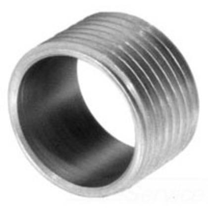"Reducer Bushing, Threaded, Size 1-1/2"" x 1/2"", Steel"