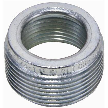 "Reducing Bushing, Threaded, 1"" x 3/4"", Aluminum"