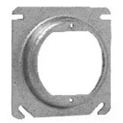4 SQ BOX CVR 5/8 RSD 2 3/4 EARS