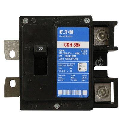Main Breaker, 200A, 120/240VAC, 1PH, Plug On Neutral, Load Center