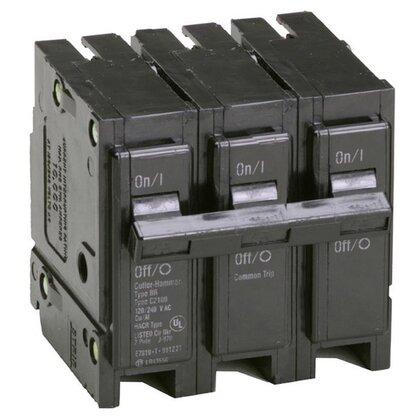 Breaker, 40A, 3P, 240V, 10 kAIC
