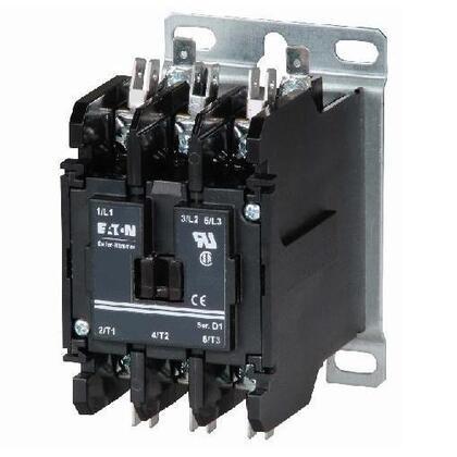Contactor, Definite Purpose, 3P, 40A, 277VAC Coil, 600VAC