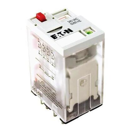 Relay, 120V AC Coil, 4PDT, Has Been Replaced By Eaton D2RF4A
