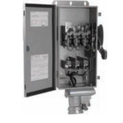 Safety Switch, 60A, 3P, 600VAC/250VDC, Type DH, Fusible, NEMA 4X