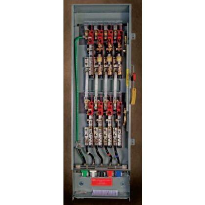 Safety Switch, Double Throw, Heavy Duty, 100A, 3P, 240VAC, NEMA 1