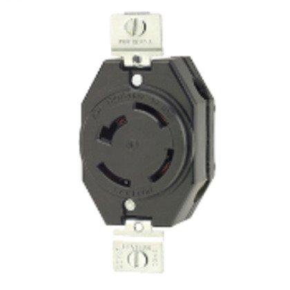 Locking Receptacle, Non-NEMA, 20A, 3PH 120/208V, 4P4W