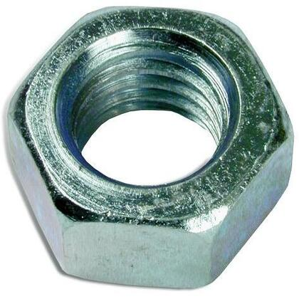 """Hex Nut, 3/8"""", Stainless Steel"""