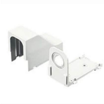 Drop Ceiling/Entrance End Fitting, LD Series Raceway, Off-White