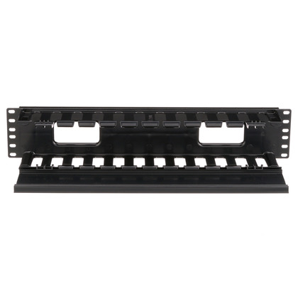 """Cable Manager, Horizontal, PatchLink, 3.5"""" H x 19"""" W x 8.9"""" D, 2RMU"""