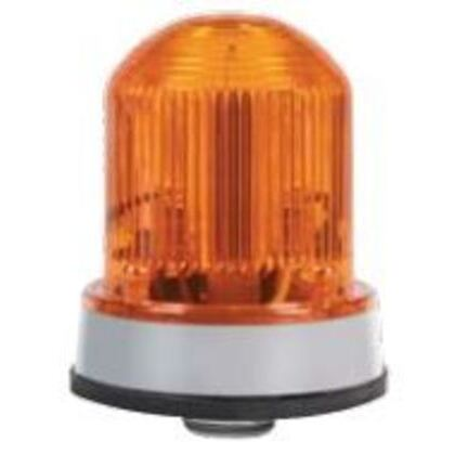 Beacon, Flashing LED, 120V AC, 0.097A, Amber