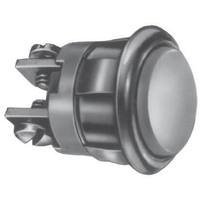 Pushbutton, Industrial, Non-Illuminated, Momentary Contacts: N.O.