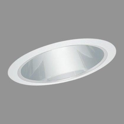 """6"""" R40/PAR38 Reflector, Slope Ceiling Trim, Copper/White"""