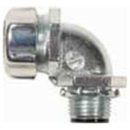 "3/4"" 90° Liquidtight Flexible Metal Conduit Fittings"