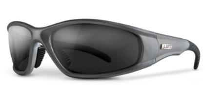 Strobe Protective Eyewear - Silver, Smoke