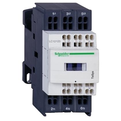 CONTACTOR 600VAC 12AMP IEC +OPTIONS
