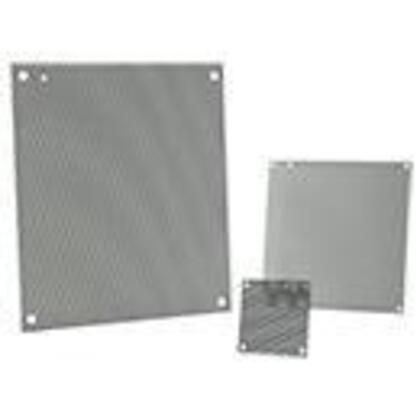 "Perforated Panel For Enclosure, 13"" x 14-1/2"", Steel"