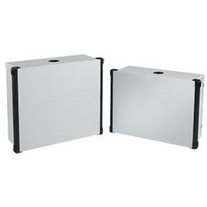 Enclosure With Black Extrusions, Concept HMI, 325 x 350 x 120mm