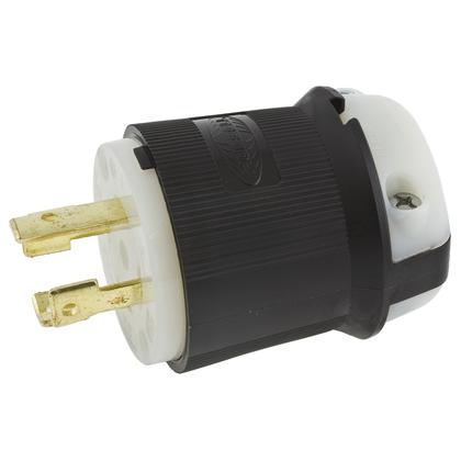 Locking Plug, 30A, 3PH 250V, L15-30P, 3P4W