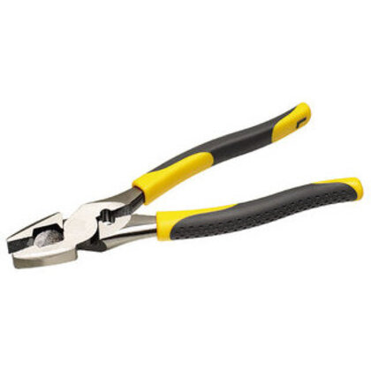 """High-Leverage Side-Cutting Pliers With Crimping Die, 9-1/4"""" Long"""