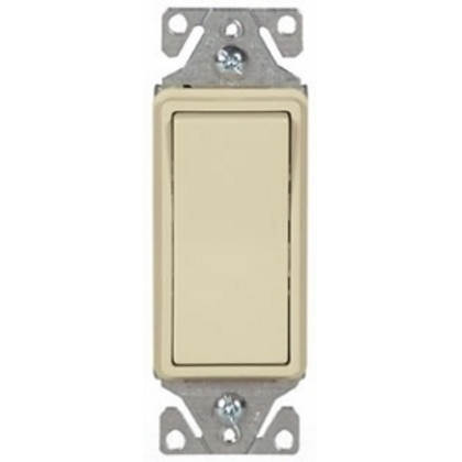 Switch Decorator 3Way LT 15A 120/277V IV 4628030