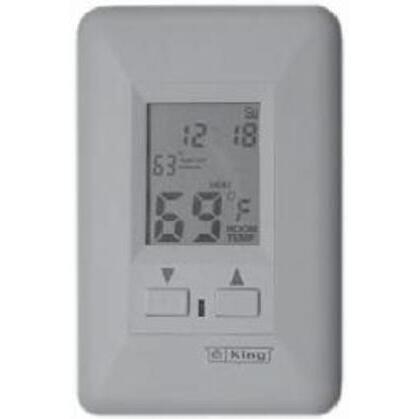Thermostat, Programmable, Single Pole, 22A, 240V, Wall Mount