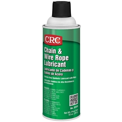 Chain and Wire Rope Lubricant, 16 Ounce Aerosol