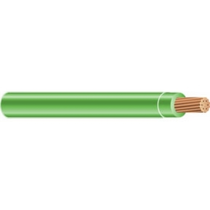 4/0 AWG THHN Stranded Copper, Green, 2500'