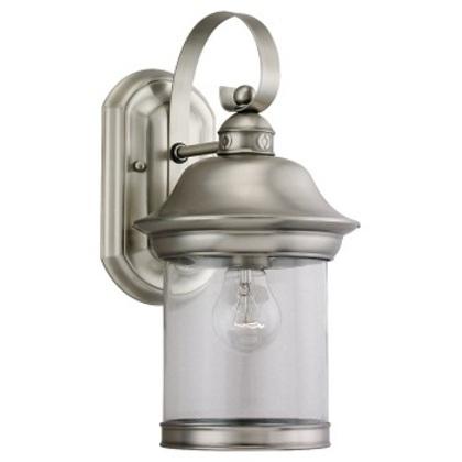 Lantern, Outdoor, 1 Light, 100W, Antique Brushed Nickel