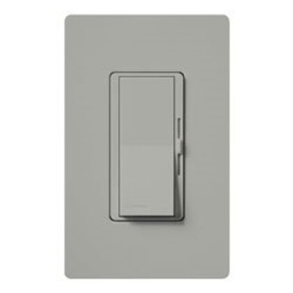 Slide Dimmer, Decora, 150/600W, Gray