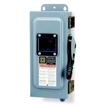 Disconnect Switch, Non-Fused, NEMA 12K, 30A, 3P, 600VAC, Heavy Duty