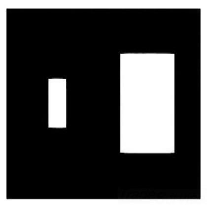Combo Wallplate, 2-Gang, Toggle/Decora, Steel, Ivory, Jumbo