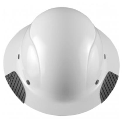 Hard Hat, Fiber Reinforced Shell, White