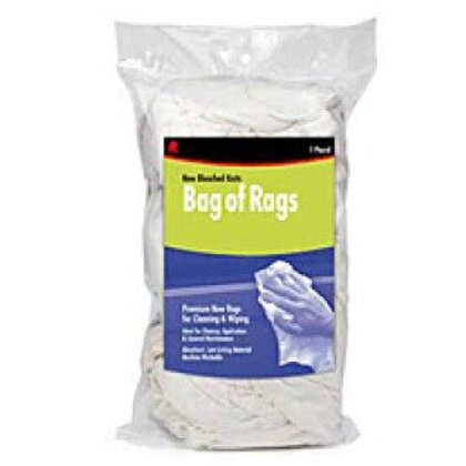 Industrial Wiping Cloth, 1 Pound Bag