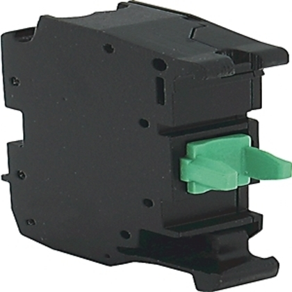 Contact Block, NC, Early Break, Spring Clamp, 10 per Package