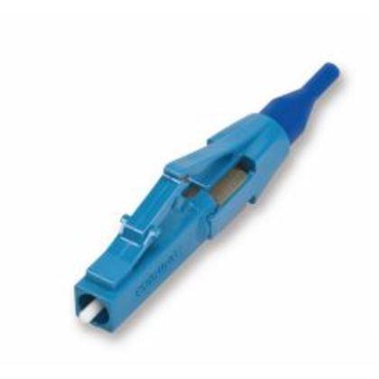 Connector, Singlemode, Pre-Polished, Fiber Optic, LC, Blue